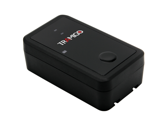Tramigo asset tracker with up to 1 year battery life