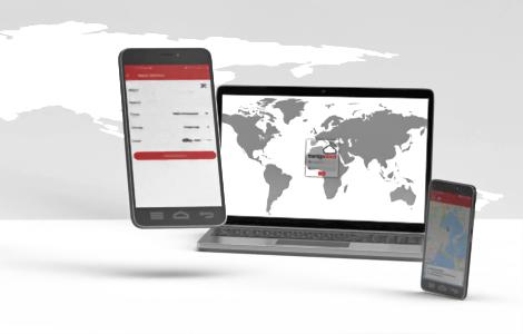 Mobilke phone app for car tracking