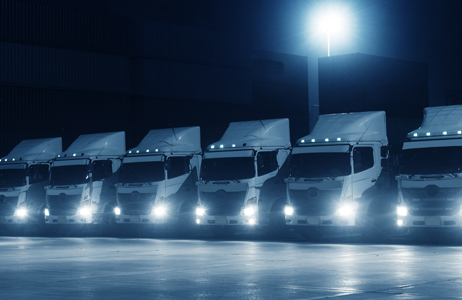 Track and manage professional fleets