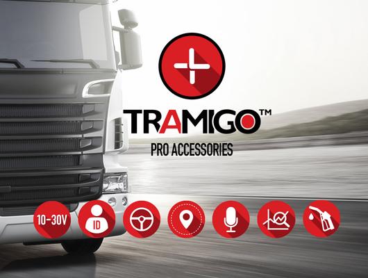 Tramigo professional accessories for mission critical fleet management