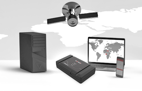 Privately hosted vehicle tracking and fleet management software