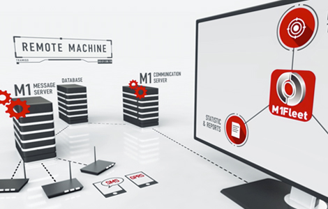 Fleet management solution complete with software and multinetwork connectivity